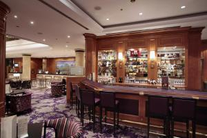 The lounge or bar area at Sheraton Zagreb Hotel