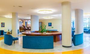 The lobby or reception area at Daina Jurmala Beach Hotel