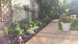 A garden outside Garden in the city