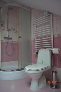 Łazienka w obiekcie Pokoje Gościnne Na Skraju Lasu