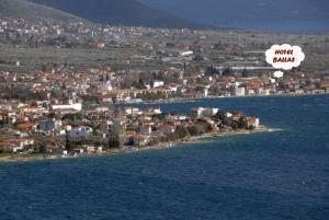 A bird's-eye view of Hotel Ballas