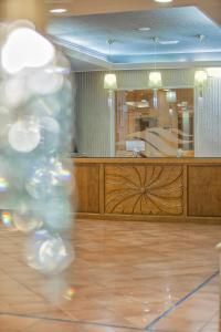 El vestíbulo o zona de recepción de Hotel Rosaleda Don Pedro
