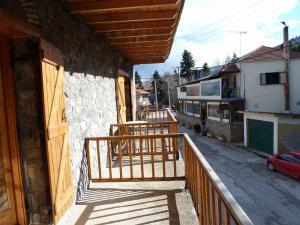 Balkon lub taras w obiekcie Kyllini Guesthouse