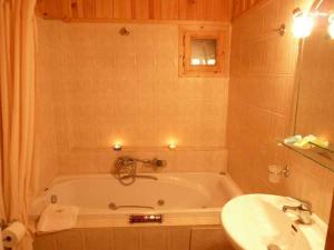 Łazienka w obiekcie Kyllini Guesthouse
