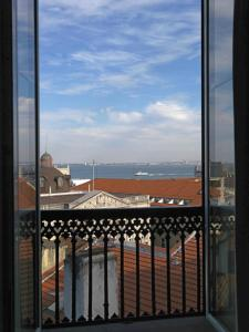 A balcony or terrace at Feels Like Home Chiado Prime Suites