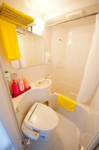 A bathroom at Super Hotel Arai Niigata