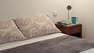 A bed or beds in a room at Duque´s Apartments