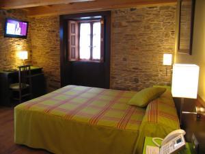 Cama o camas de una habitación en Hotel Rolle