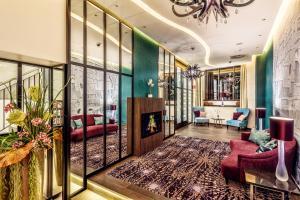 Lobby/Rezeption in der Unterkunft CityClass Hotel Residence am Dom