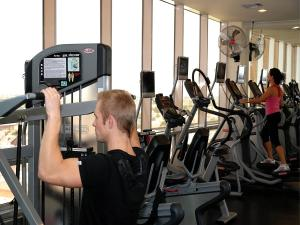 The fitness centre and/or fitness facilities at Hotel Monteleone