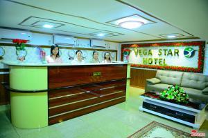 The lobby or reception area at Vega Star Hotel