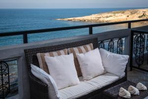 A balcony or terrace at Villa Sonia