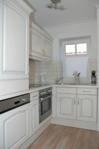Küche/Küchenzeile in der Unterkunft Boardinghouse