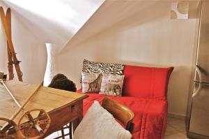 Ein Sitzbereich in der Unterkunft Casa Del Re