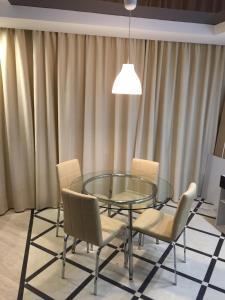 A seating area at Apartment Inzhenernaya 108/62