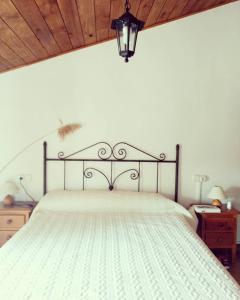 Cama o camas de una habitación en Casa Rural El Milano