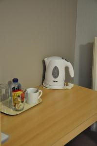 Принадлежности для чая и кофе в Hotel Brasserie De Beiaard
