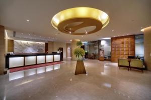 The lobby or reception area at Vivanta Goa, Panaji