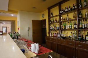 The lounge or bar area at Hotel Europa