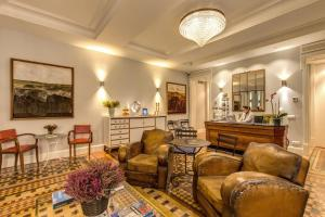 The lobby or reception area at We Boutique Hotel Barcelona
