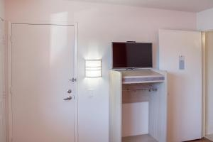 A television and/or entertainment center at Motel 6-Ukiah, CA