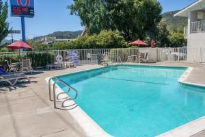 The swimming pool at or near Motel 6-Ukiah, CA