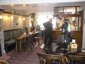 The lounge or bar area at The Darnley Arms