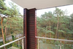 Balkon lub taras w obiekcie Apartament Jurata