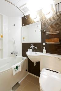 A bathroom at UNIZO INN Sapporo