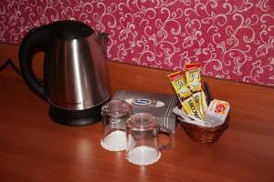 Coffee and tea making facilities at Skazka Vostoka