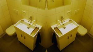 A bathroom at Appartement Bamberg am Rathaus