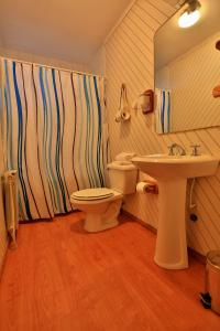 A bathroom at Hotel y Cabañas Patagonia Green