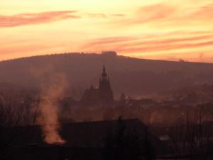 Вид на восход или закат из апартаментов/квартиры или места поблизости