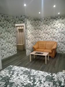 Гостиная зона в Apartment Pleskov