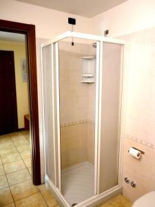 Ванная комната в Bergamhotel