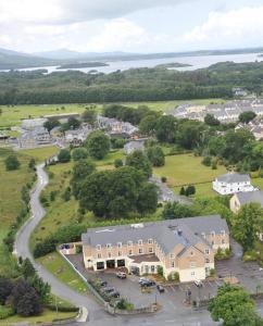 A bird's-eye view of Killarney Riverside Hotel