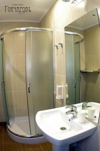 Ванная комната в Гостевой дом «Гончаровъ»