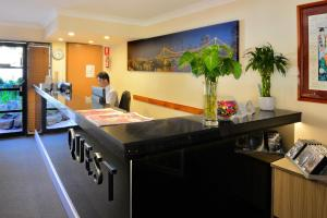 The lobby or reception area at Quest Ascot