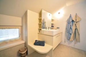 Ein Badezimmer in der Unterkunft Haus Gabriel - Seefeld