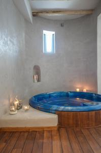 A bathroom at Hotel Grotta