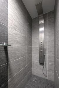 Koupelna v ubytování Vila Jiřinka