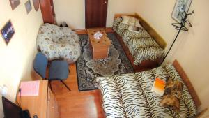 Кровать или кровати в номере Комфорт Чита