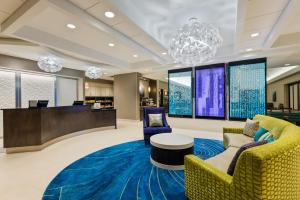 The lobby or reception area at Homewood Suites by Hilton Orlando-Nearest to Universal Studios
