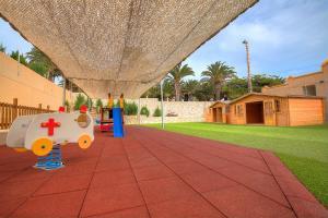 Children's play area at SBH Monica Beach Resort