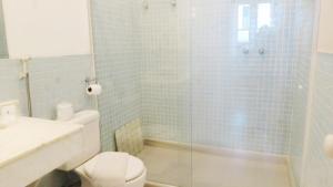 A bathroom at Pousada Magister
