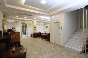 The lobby or reception area at Athens Delta Hotel