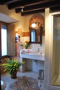 Un baño de Hotel Rural Casa Grande Almagro