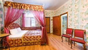 Кровать или кровати в номере Гостевой Дом Востряково