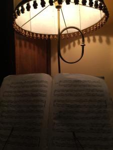 Letto o letti in una camera di B&B Bruno