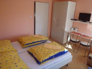 Postel nebo postele na pokoji v ubytování Privat Ján Vereš